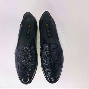 Men's Stacy Adams Snake Skin & Leather Loafers PO